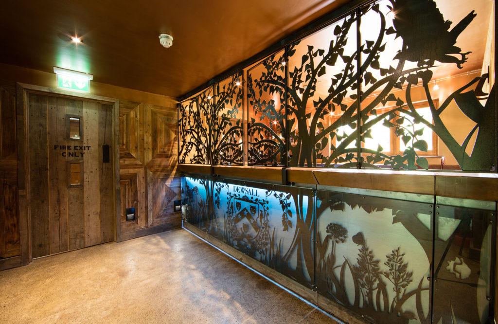 Dewsall Court - Wainhouse Barn renovation, foyer