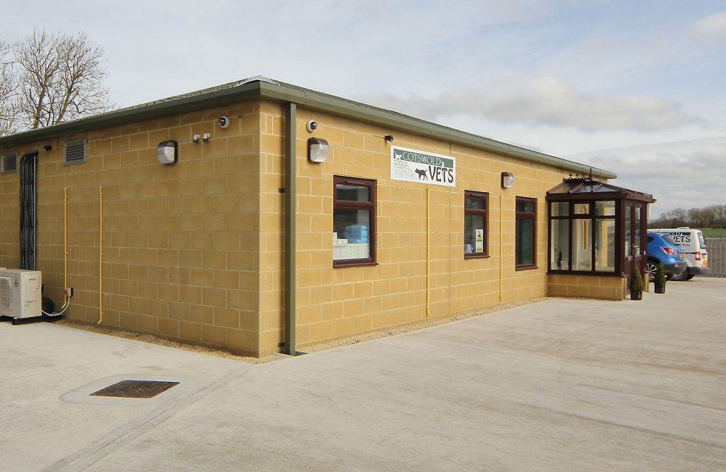 Cotswold Vets, exterior