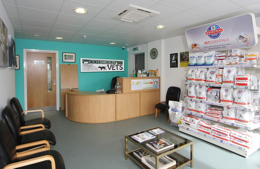 Cotswold Vets, interior