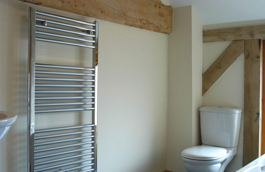 Horton barn conversion, bathroom