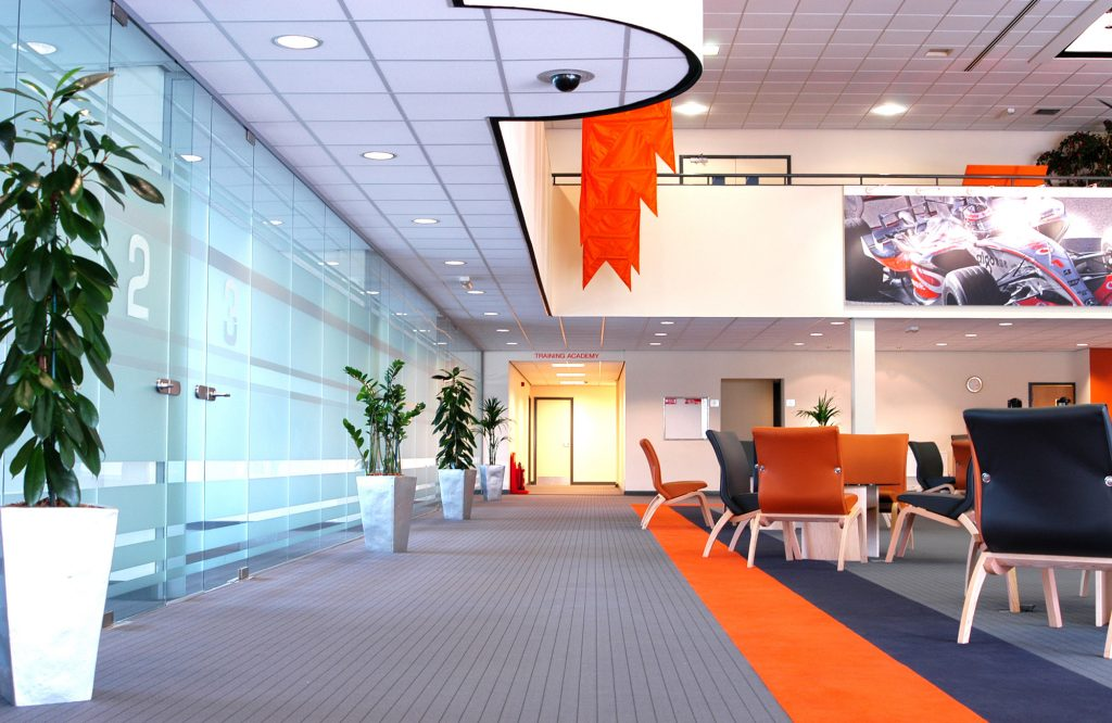 Mazak, office fit-out