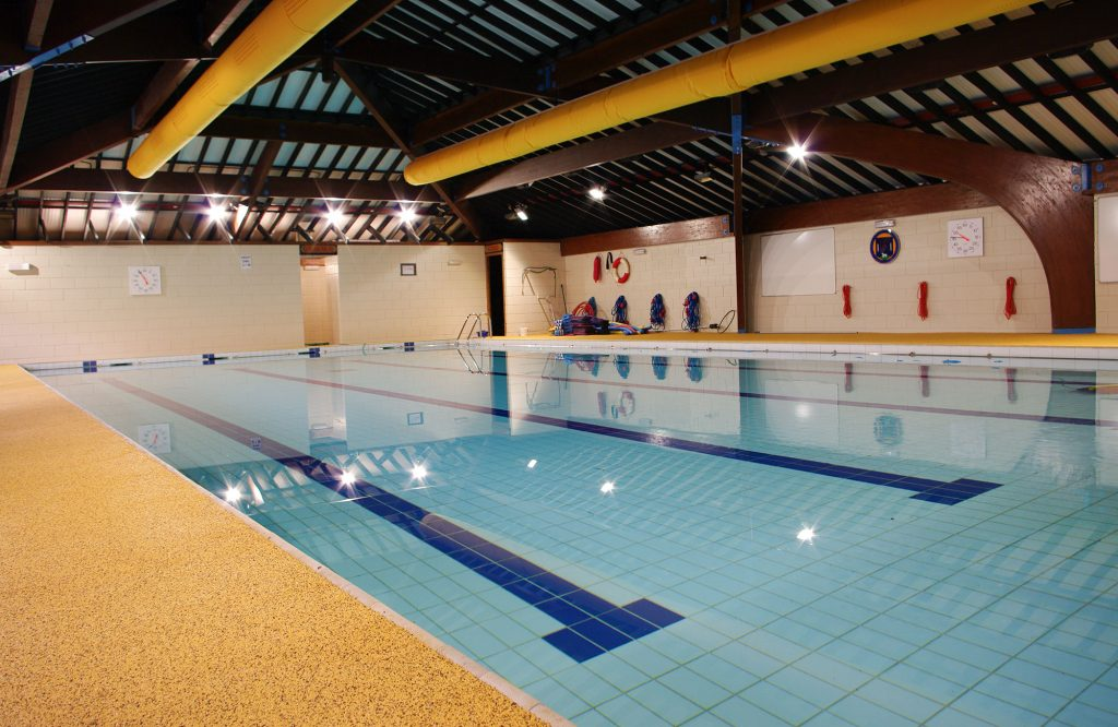 King Charles I School, swimming pool